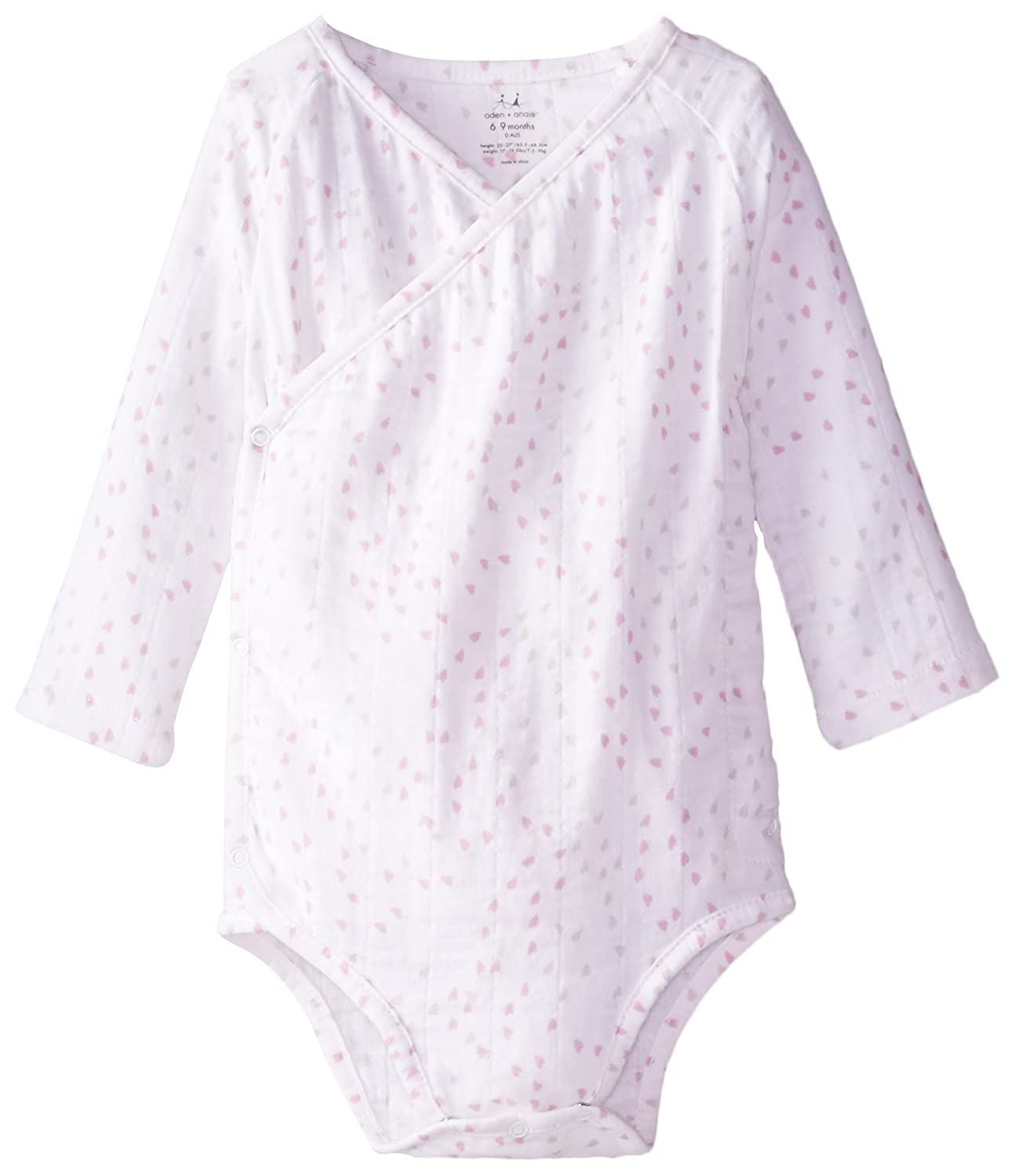 Amazon Com Aden Anais Baby Girls Newborn Muslin Long Sleeve