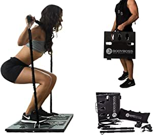 BodyBoss Home Gym 2.0 - Full Portable Gym Home Workout Package + 2 Extra Bands