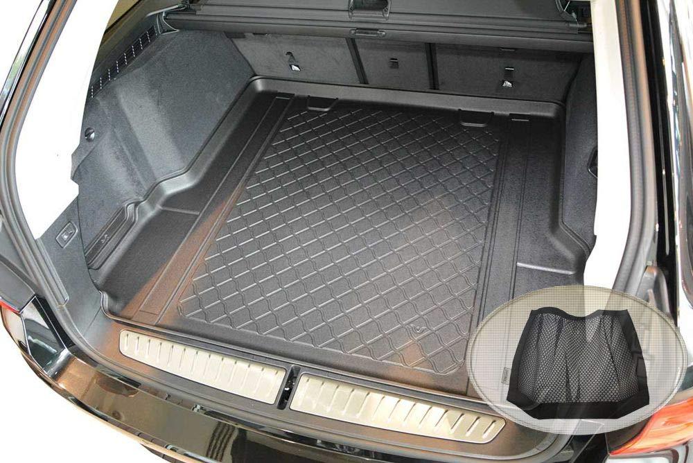 2017 2-teilige Kofferraummatte mit Stoßstangenschutz für BMW 5er Touring G31 Bj