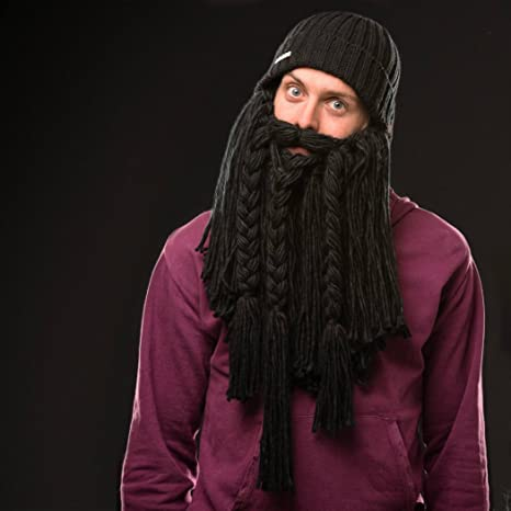 3d575fc26a2 BEARDO - Long Viking Beard Hat (Adult) at Amazon Men s Clothing store