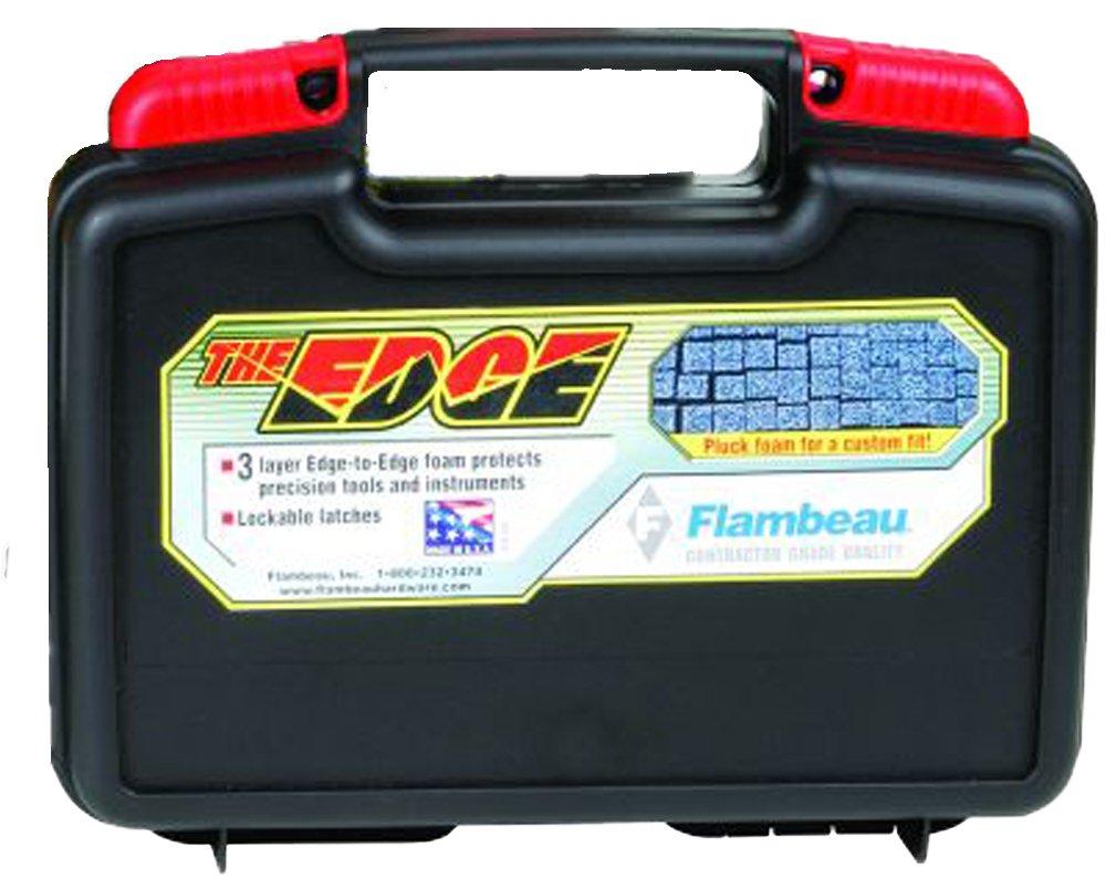 Flambeau 6514TR Tradesman EDGE Portable Tool Box Storage Case, 14-Inch