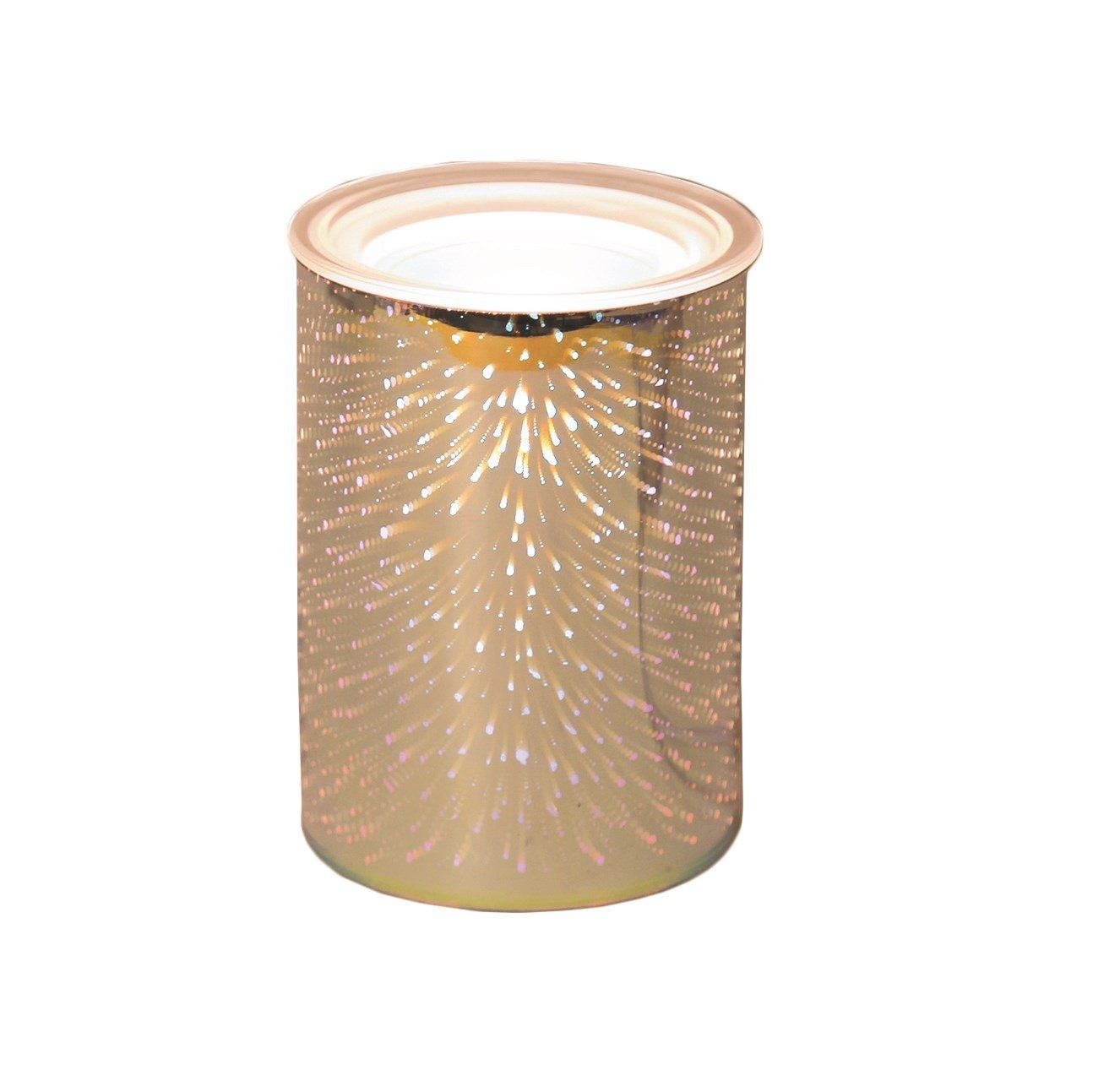 3D Star Field Design Electric Wax Melt Burner Lamp Scented Tart Fragrance Aroma Warmer 14cm Tooltime®