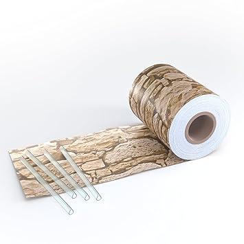 Amazon.de: sichtschutz für doppelstabmatten zaun rolle blickdicht ...