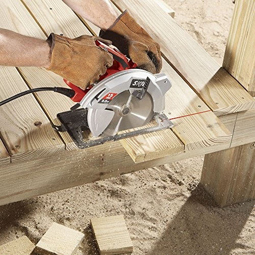 SKIL 5280-01 15-Amp 7-1/4-Inch Circular Saw with Single Beam Laser Guide by Skil (Image #3)