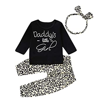 8b1cf545e Amazon.com  Stylish Toddler Infant Baby Girl Clothes Set Long ...