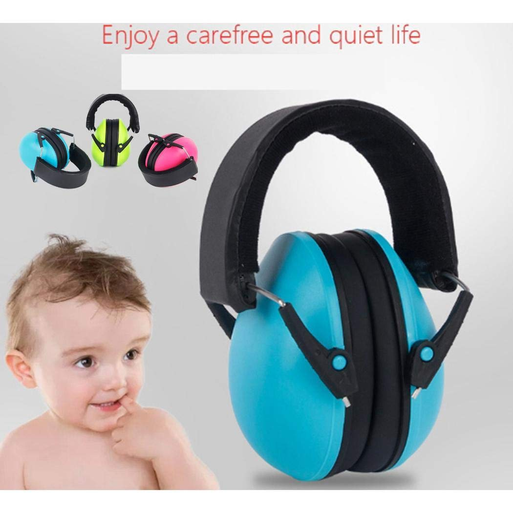 Detailorpin Children Hearing Protection Headphone Noise Canceling Professional Earmuffs