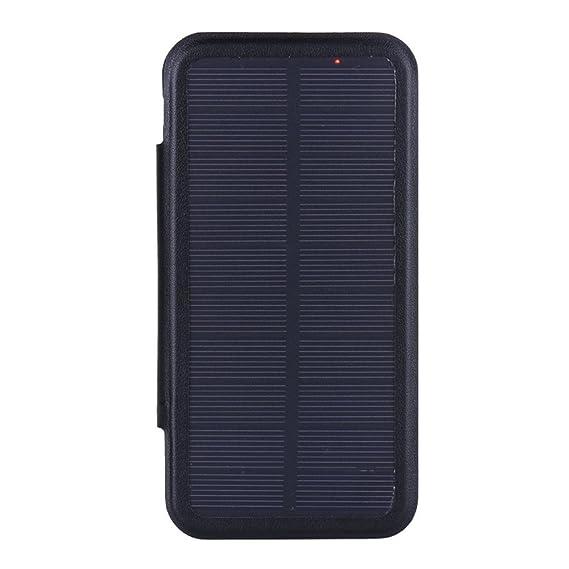 outlet store e71a7 e3a28 Amazon.com: Solar Battery Clip Charger Case Power Bank Cover for ...
