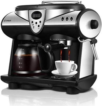 KOUDAG Cafetera Máquina de café Espresso Cafetera Estadounidense Máquina de café de 20 Bares para el hogar Máquina de café termostato de Oficina precisa: Amazon.es: Hogar