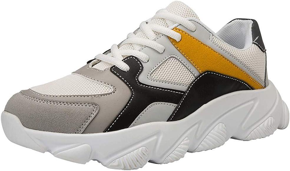 Mxjeeio 💖 Zapatillas Hombre Zapatillas Running Hombre Zapatillas Deportivas Hombre De Cordones En Gimnasio Aire Libre Y Deporte Transpirables Tejidas Casual Zapatos Gimnasio Correr Sneakers: Amazon.es: Ropa y accesorios