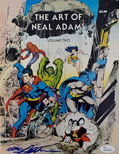 Neil Adams Autographed Signed Rare The Art of Neal Adams Comic Book Vol 2 JSA Authentic Autographed Signed Autograph