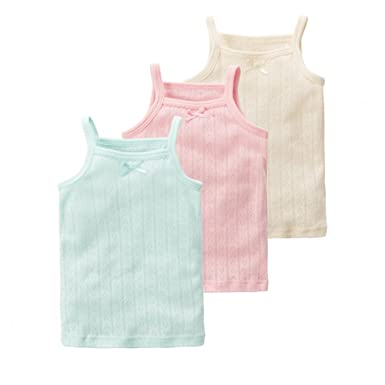 28b9d93d60990b VeaRin Toddler Girls Cotton Assorted Cami Undershirts Tank Top 3 Pack  (Small:3T-