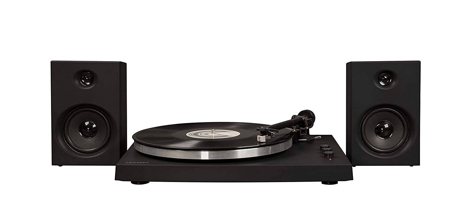 Crosley T150 Modern 2-Speed Bluetooth Turntable System with ...