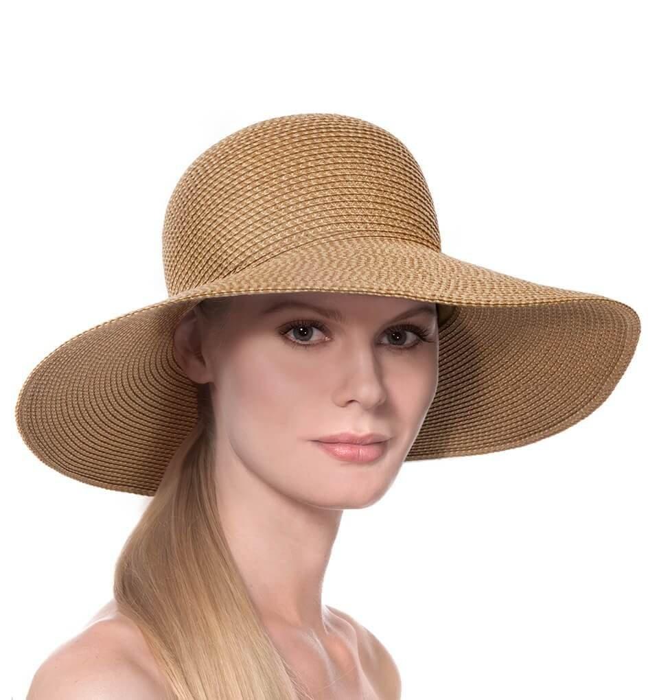 Eric Javits Luxury Fashion Designer Women's Headwear Hat - Bella - Natural by Eric Javits