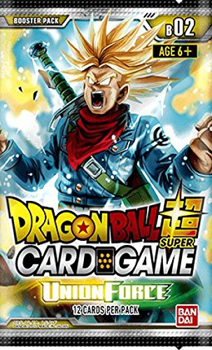 Union Booster - Dragon Ball Z Super Series 2 Union Force TCG Booster Pack - 1 Pack
