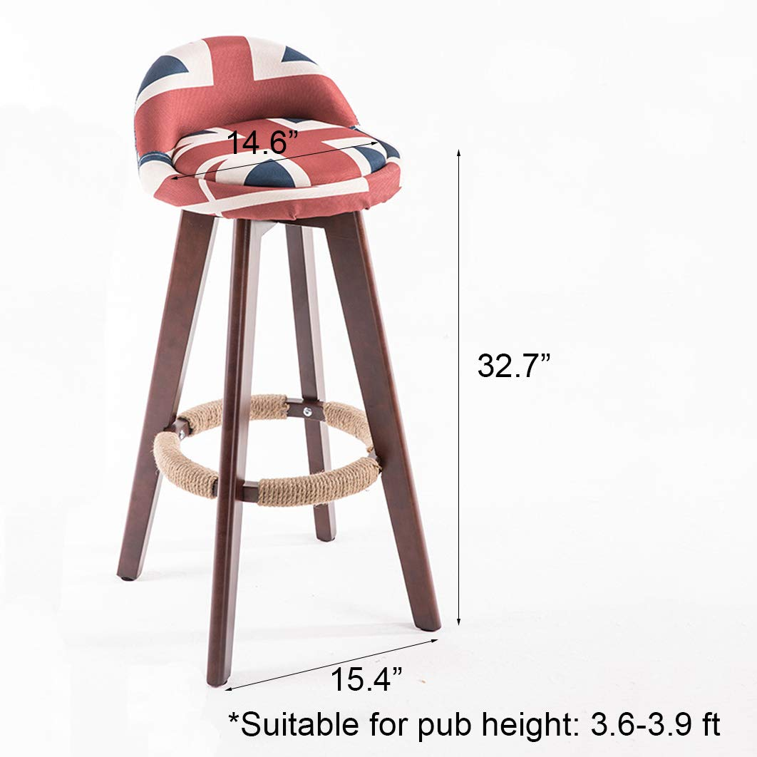 Magnificent Amazon Com Di Dani 3600 Swivel Bar Stools Stool Chair With Bralicious Painted Fabric Chair Ideas Braliciousco
