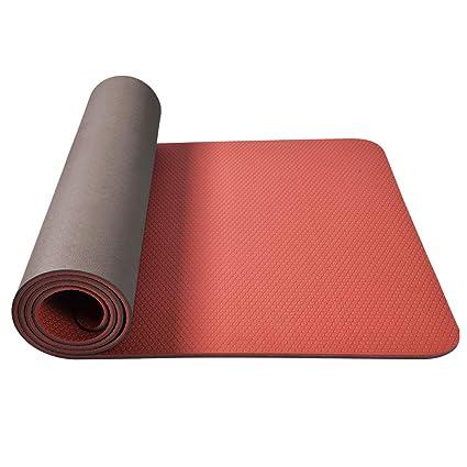 Tapete de Yoga - Dos Tonos Antideslizante y sin Sabor TPE ...