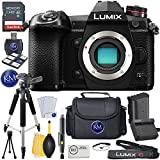 Panasonic Lumix DC-G9 Mirrorless Micro Four Thirds Digital Camera (Body Only) w/ 32 GB Memory and Essential Accessory Bundle