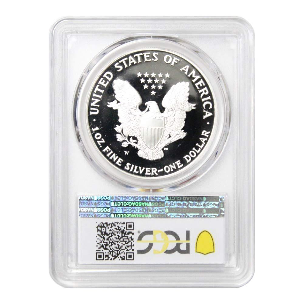 2010 W American Silver Eagle $1 PR70DCAM PCGS