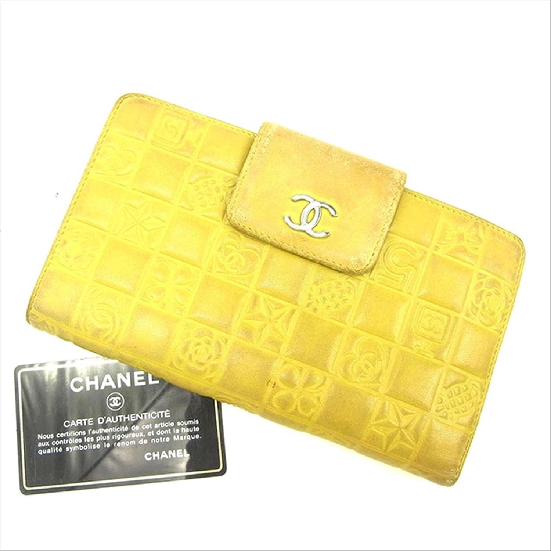 [シャネル] CHANEL 長財布 がま口財布 レディース A24213 アイコンシリーズ 中古 Y7634 B0772PMSGV