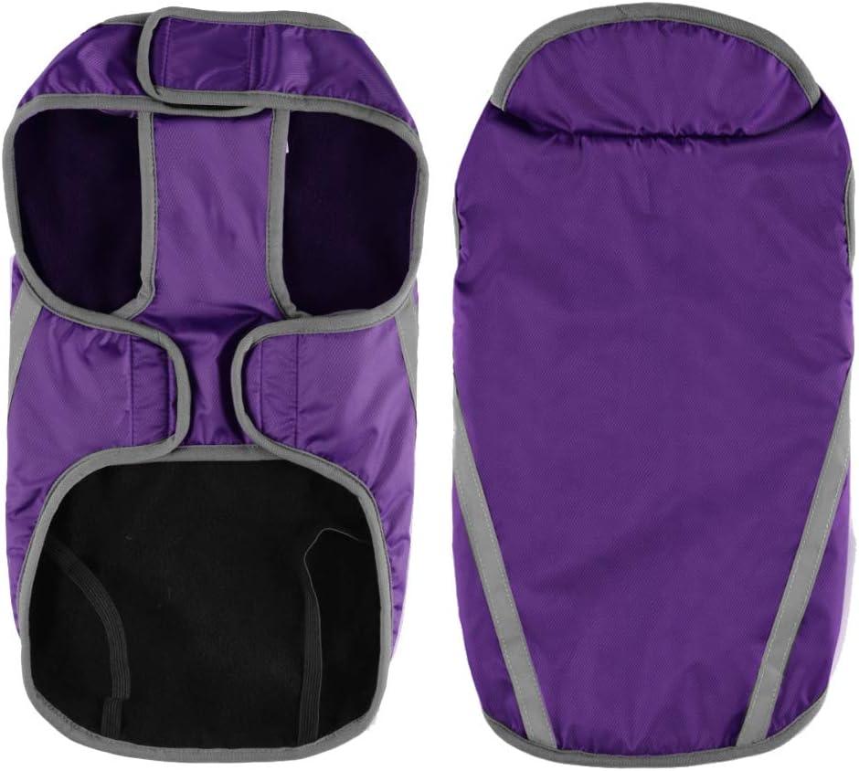 FREESOO Dog Jacket Waterproof Soft Warm Pet Coats Clothes Raincoat Winter for Small Big Dog