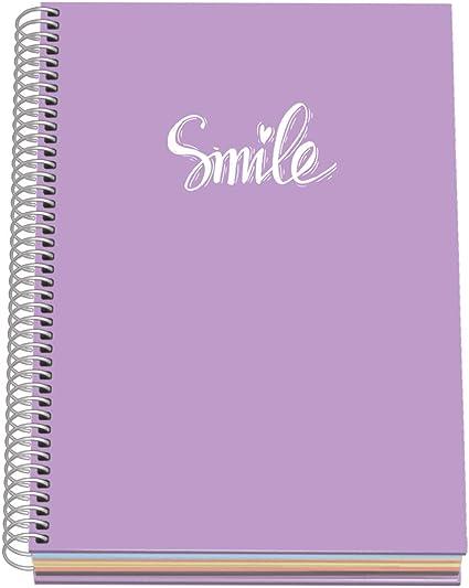 Morado Dohe Pastel Cuaderno A5