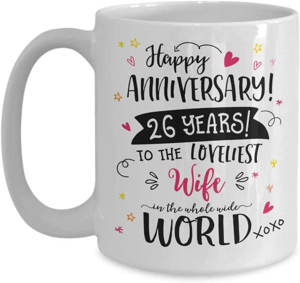 Amazon Com 26th Wedding Anniversary Gifts For Her Loveliest