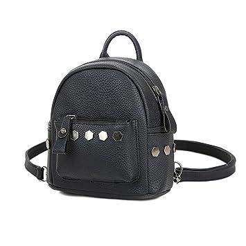 Espeedy Mini Rivet Backpack For Women Girl PU Leather Women Backpack  Fashion School Bag 3 colors 561d8632c23d9