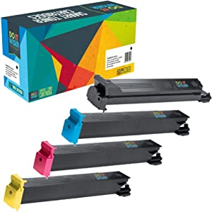 Do it Wiser Compatible Toner Cartridge Replacement for Konica Minolta BizHub C353 C253 C203 | TN213K TN213C TN213M TN213Y (4 Pack)
