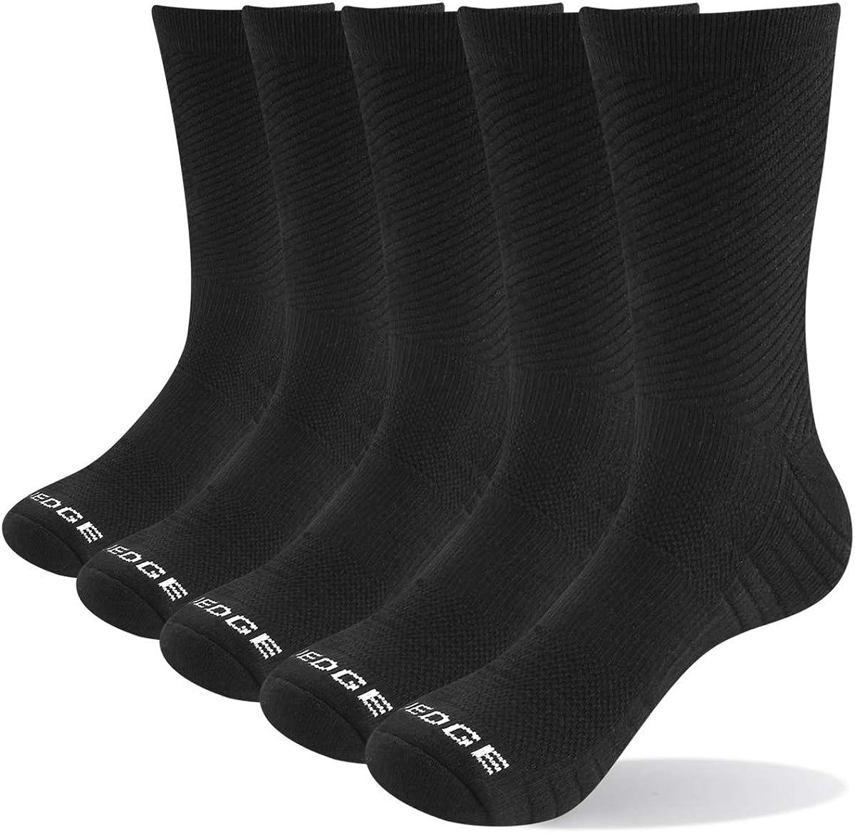 Women/'s Grey Crew Athletic Socks Super Soft Durable Casual Cotton Socks 6 Pairs