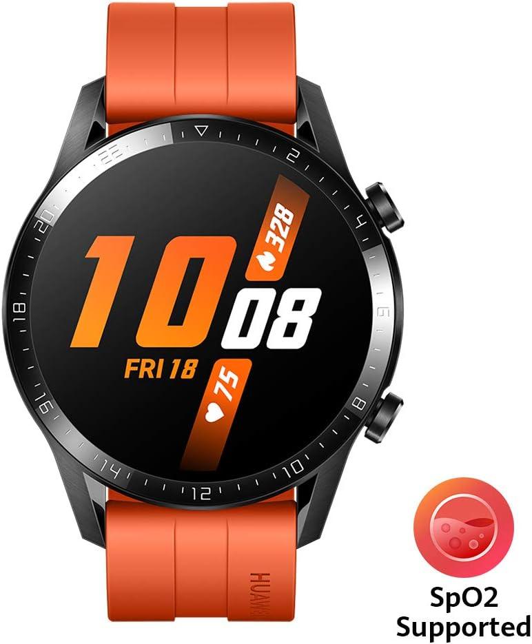 Huawei Watch GT2 Sport - Smartwatch con Caja de 46 Mm (Hasta 2 Semanas de Batería, Pantalla Táctil Amoled de 1.39