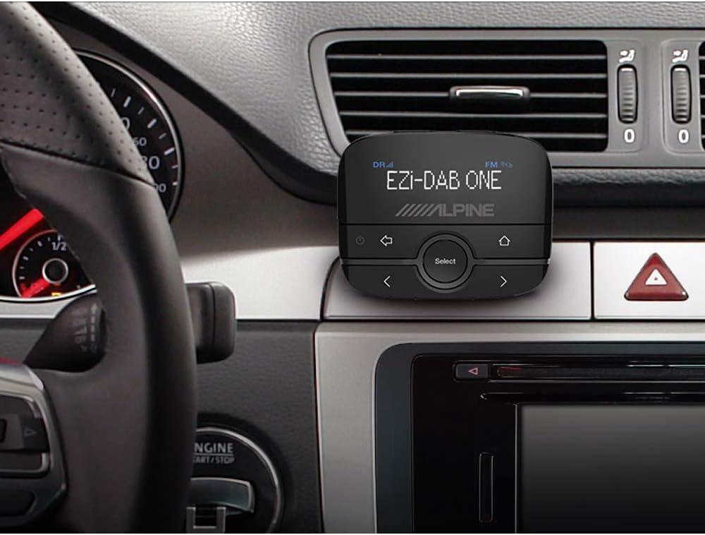 Alpine ezi-dab-one/ Nero /ricevitore FM con Bluetooth colore