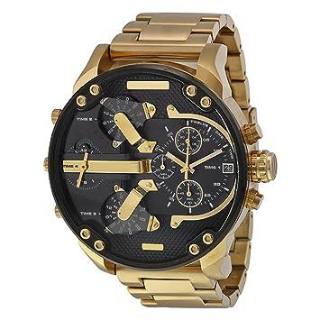 fenkoo Hombres uhrquarz impermeable de deportes reloj calendario auténtica Acero Inoxidable Reloj de pulsera