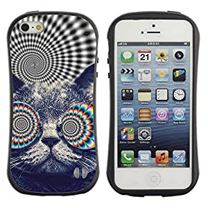 High quality Case for Apple iPhone 6 4.7 6 4.7 Psychedelice Cat