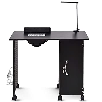 Amazon.com : Manicure Table Nail Art Table Nail Station Desk Beauty ...