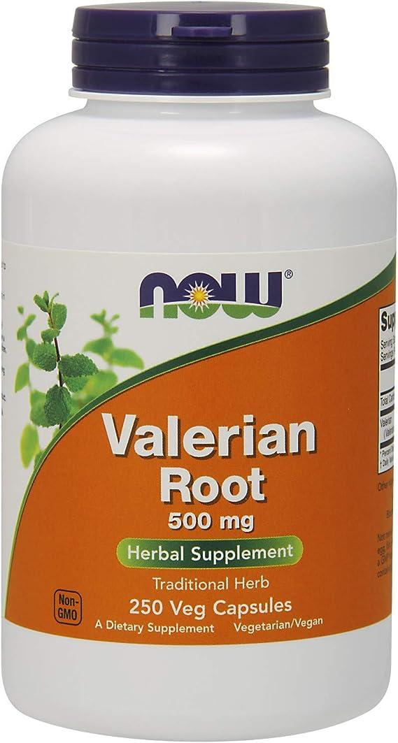 NOW Valerian Root Supplement