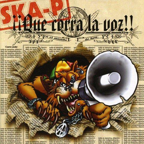 CD : Ska-P - Que Corra La Voz (CD)