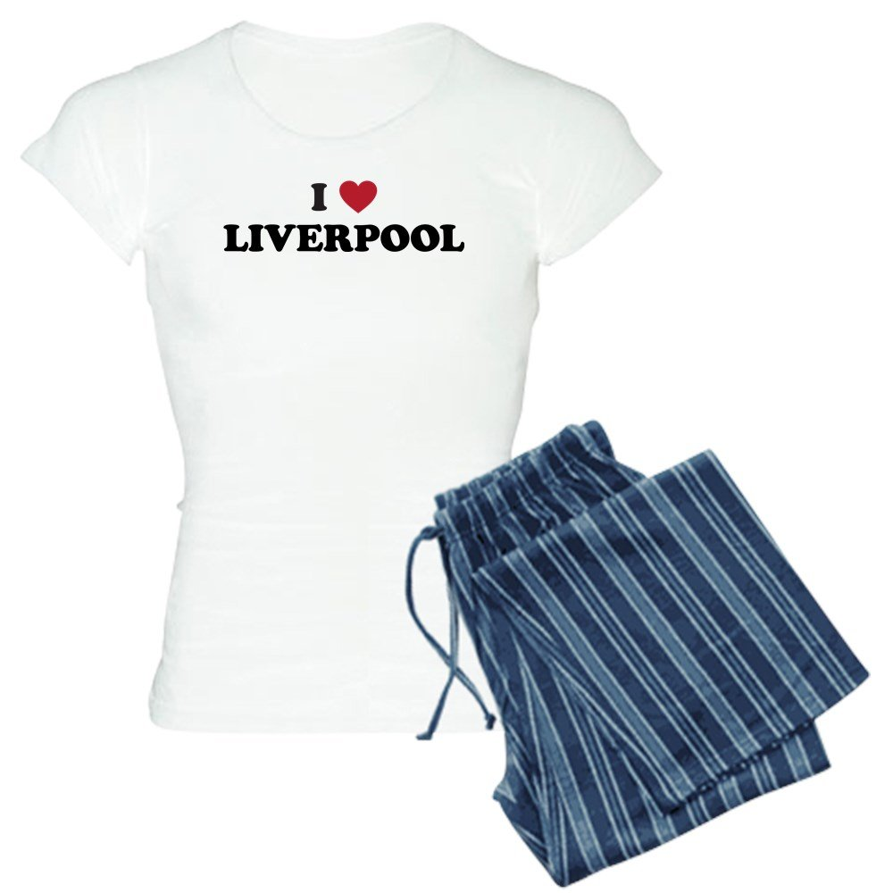 CafePress - I Love Liverpool - Womens Pajama Set