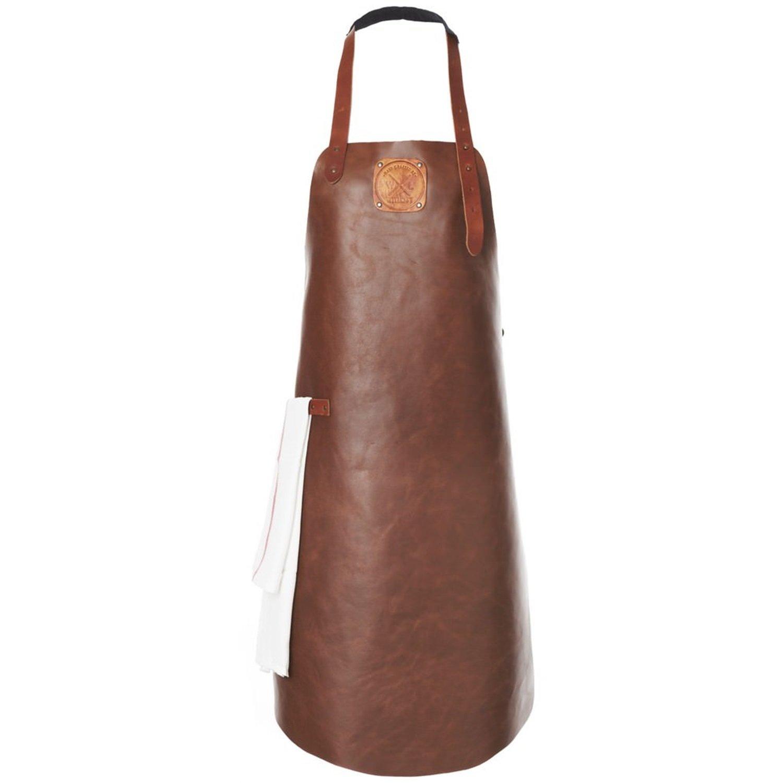 Witloft Leather Apron - Cognac/Cognac
