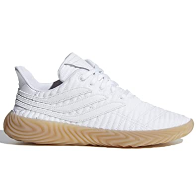 wholesale dealer de6ec 3d300 adidas Sobakov Mens in WhiteWhiteGum, 7.5