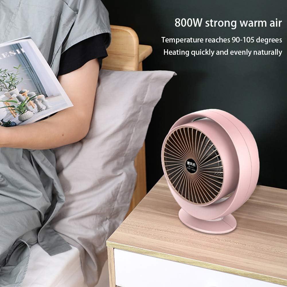 JH&MM Caliente Velocidad Calentador Calentador portátil Ventilador ...