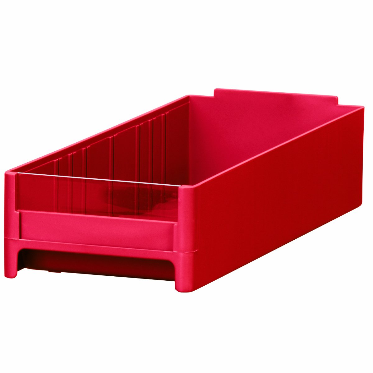 Akro-Mils 20416 Replacement Drawer for 19416 Steel Storage Cabinet, Red, Case of 32