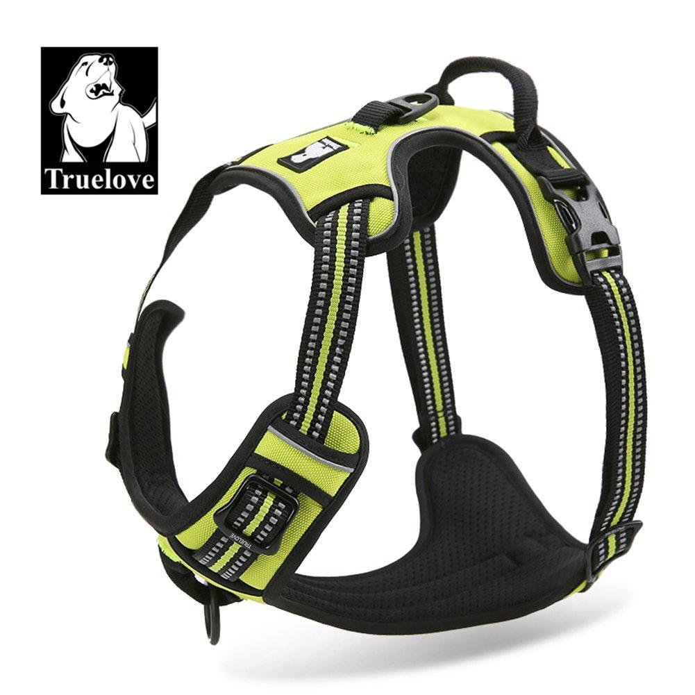 aventuras al aire libre TrueLove TLH5651 cachorros Arn/és para perro las costuras reflectantes 3M aseguran la visibilidad de noche arn/és chaleco para perros grandes