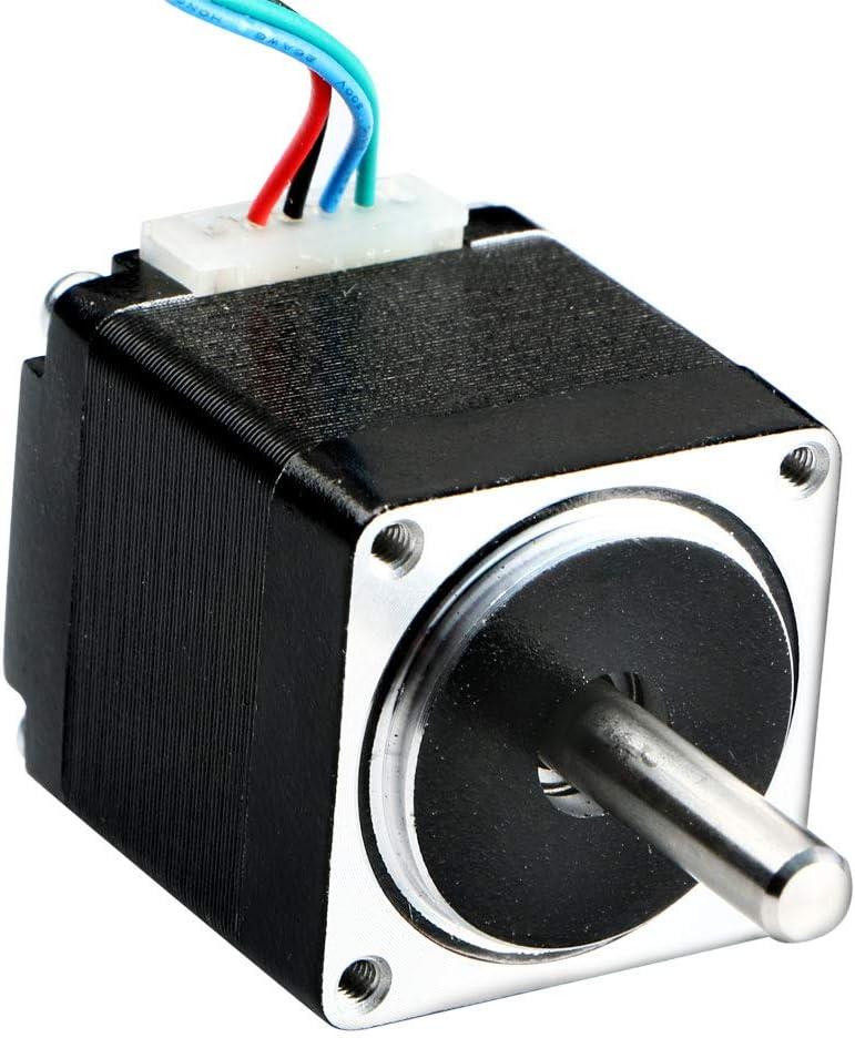 EBILUN New Nema11 Hybrid Stepper Motor Bipolar 2-Phase 12V 0.67A28mm DIY Robot CNC 3D Printer