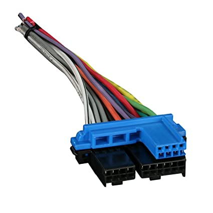 amazon com metra 71 1858 reverse wiring harness for select 1987 rh amazon com GM Radio Wiring Harness GM Radio Wiring Harness