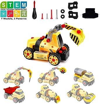 Amy & Benton Montage von Spielzeuglastwagen für Kinder Junge