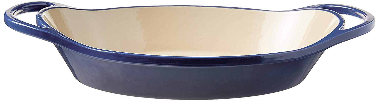 Lodge EC2C32 Oval casserole, 2 Quart, Blue