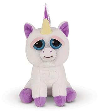 Mac Due Italy - Feisty Pets Unicornio de Peluche, Color Blanco Morado, 323582: Amazon.es: Juguetes y juegos