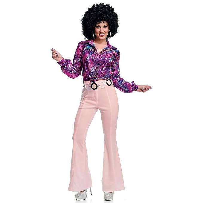 Amazon Com Gsg Womens Disco Pants Costume Adult Halloween Fancy