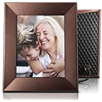 Nixplay Iris 8 Wi-Fi Cloud Frame (W08E- Burnished Bronze)