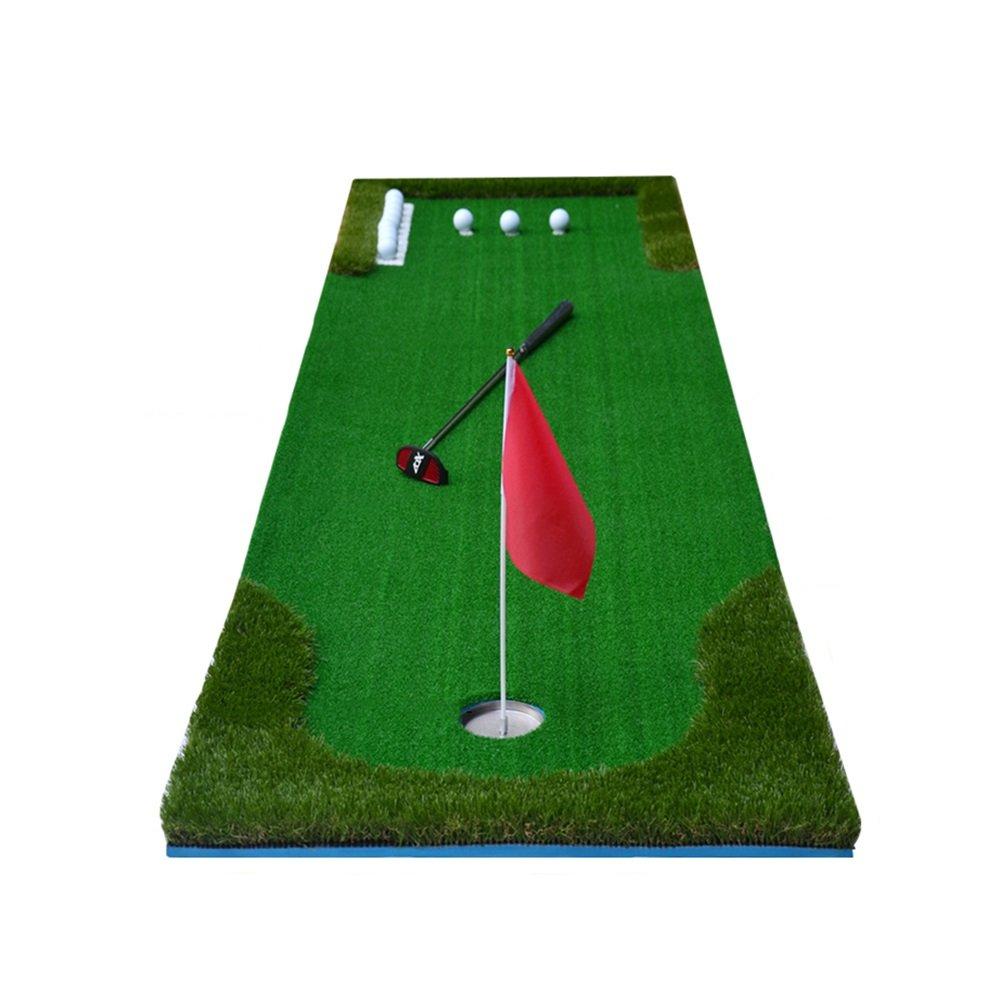 Hyzbゴルフ練習マットゴルフトレーニングターフマットゴルフドライビングレンジマット用裏庭屋内オフィス練習ブランケットスーツ   B07M8G51F5
